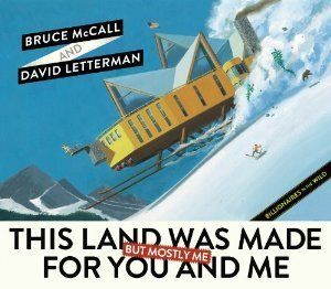 What better way to celebrate the commercialism of Christmas than with this parody about billionaires by Bruce McCall and Davi