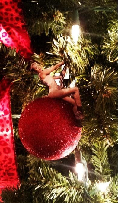 Have a Miley Cyrus Christmas.