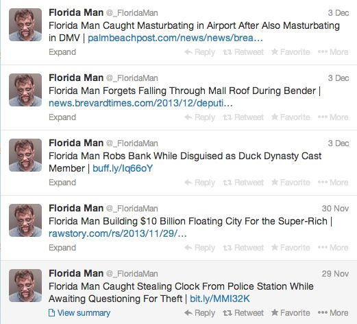 "Thank you, <a href=""https://twitter.com/_FloridaMan"" target=""_blank"">@_FloridaMan</a>."