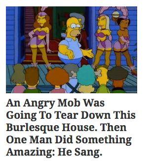 """The website du jour + """"The Simpsons"""" = LOL."""