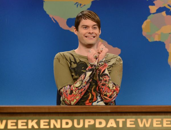 "With Bill Hader's departure from ""SNL"" we were forced to say goodbye to Stefon. As Weekend Update's city correspondent, he ha"