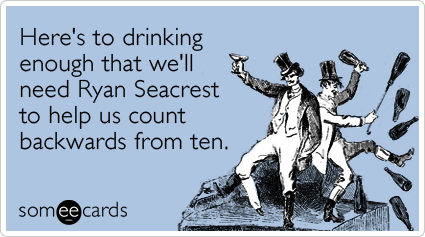"""To send this card, go <a href=""""http://www.someecards.com/new-years-cards/new-years-eve-ryan-seacrest-drink-funny-ecard"""" targe"""