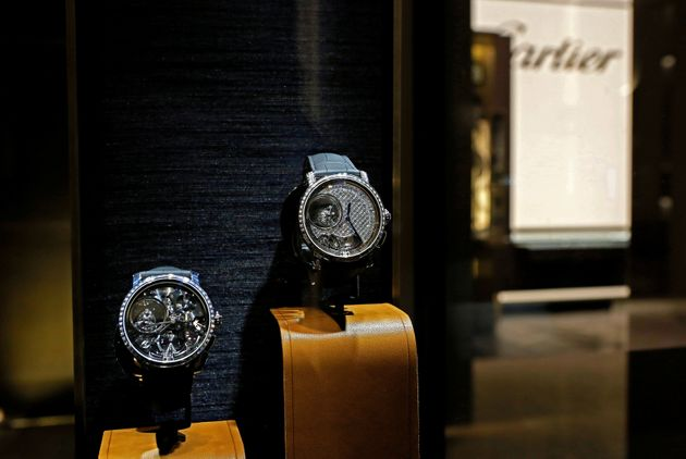 Cartier watches. The brand's owner, Richemont, recently destroyed millions of dollars' worth of stock...