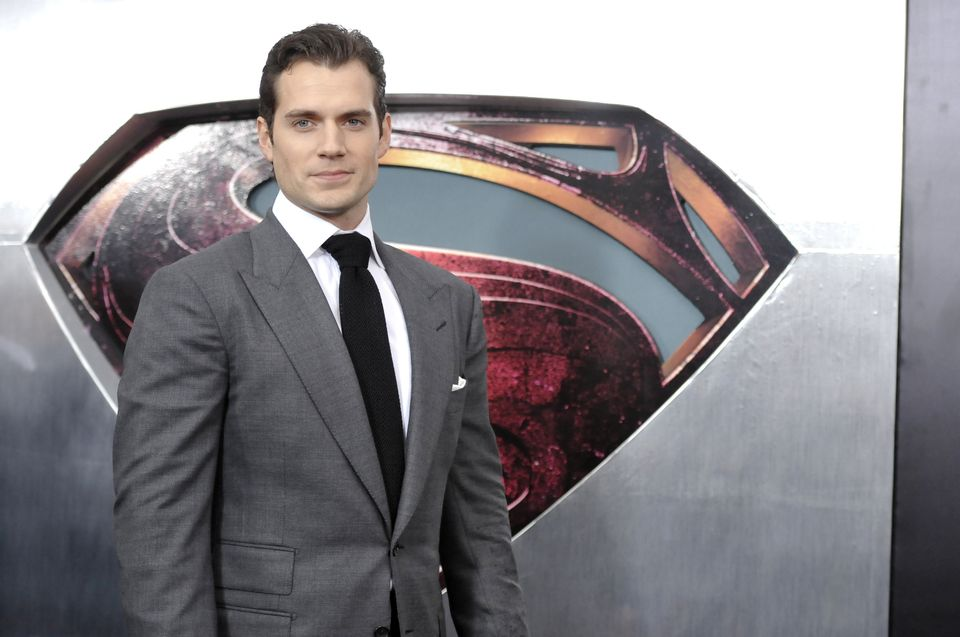 """Actor Henry Cavill attends the """"Man Of Steel"""" world premiere at Alice Tully Hall on Monday, June 10, 2013 in New York. (Photo"""