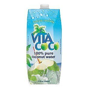 Drink a refreshing and healthy coconut water while sitting under a blanket in your freezing apartment. There's nothing more f