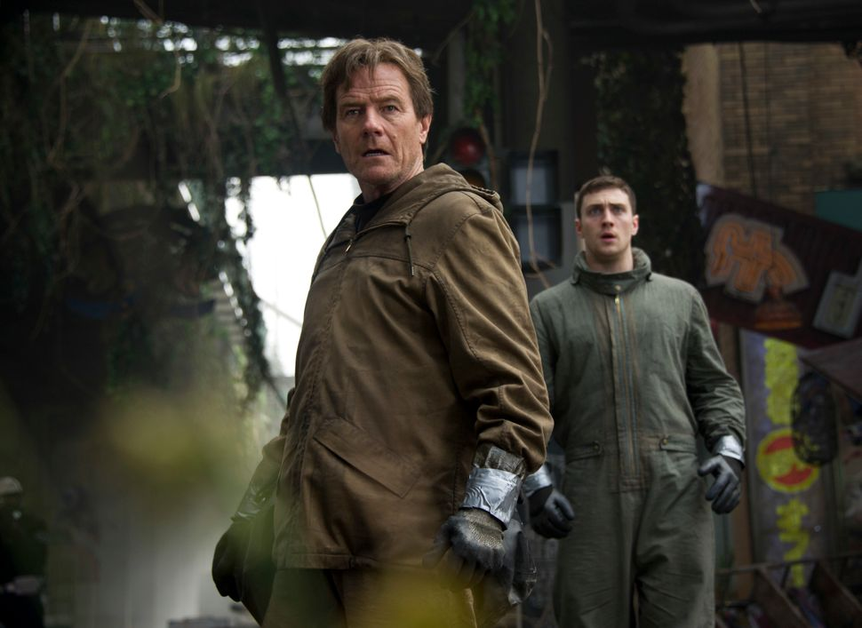 Gareth Edwards' new take on the legendary kaiju stars Bryan Cranston, Aaron Taylor-Johnson, Elizabeth Olsen and some of the <