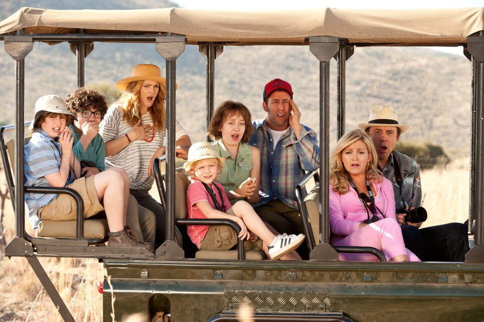 Adam Sandler and Drew Barrymore reunite for this family comedy.