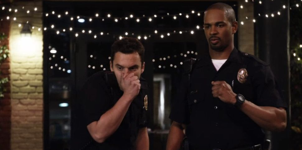 "Jake Johnson and Damon Wayans Jr. star as fake cops in this comedy from director Luke Greenfield (""The Girl Next Door"")."