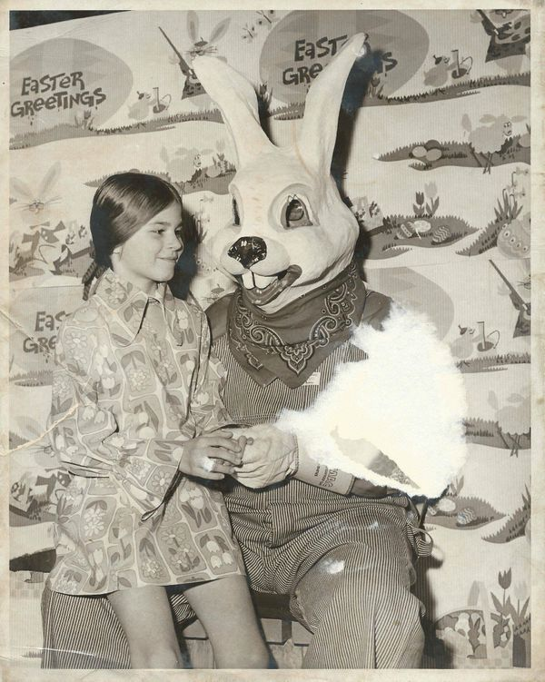 """His mask may say """"bunny"""" but the rest of him says """"creep."""""""