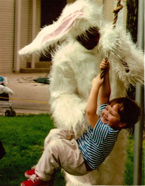 And then run, because who knows what that bunny is capable of.