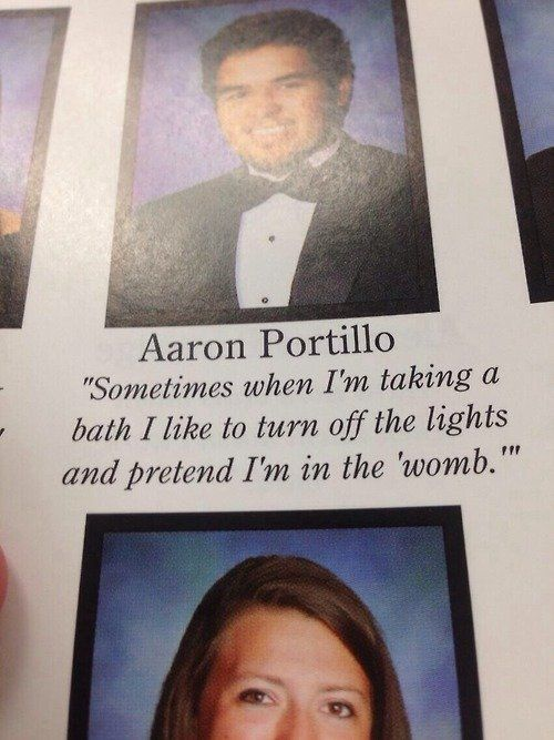 these high schoolers got away the most inappropriate yearbook