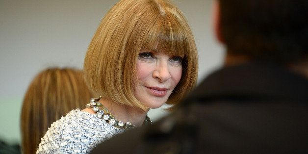 NEW YORK, NY - MAY 05: Vogue Editor in Chief Anna Wintour attends the Anna Wintour Costume Center Grand Opening at the Metropolitan Museum of Art on May 5, 2014 in New York City. (Photo by Michael Loccisano/Getty Images)