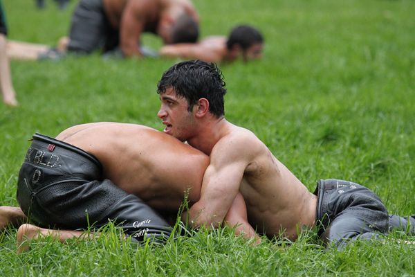 Oil Wrestling Is Turkey's Full-Contact, Messy National Sport