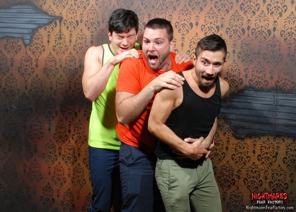 It's a scared bro sandwich!