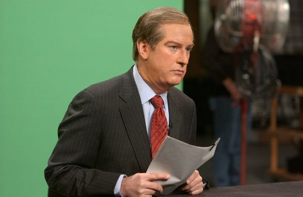 Pictured: Darrell Hammond as Bill O'Reilly during 'The O'Reilly Factor' skit on Dec. 10, 2005  (Photo by Dana Edelson/NBC/NBC