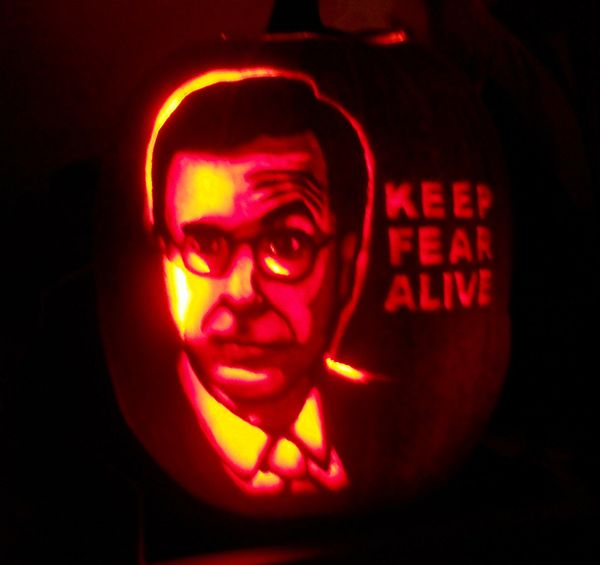Keep fear alive, Colbert Nation.