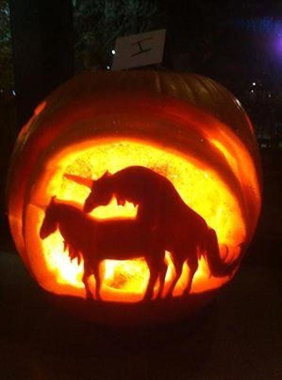 Wildly inappropriate pumpkins for a more shocking halloween