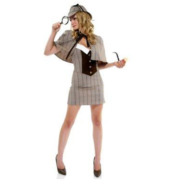 "Or ""sexy detective costume"" if you will. We won't."