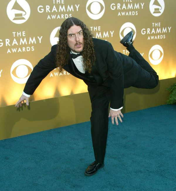 """Yankovic won Best Comedy Recording for """"Eat It"""" (1984), Best Concept Music Video for """"Fat"""" (1985), Best Comedy Album for """"Poo"""