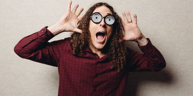 Weird Al Yankovic poses for a portrait during an interview on Thursday, July 17, 2014, in Los Angeles. (Photo by Casey Curry/