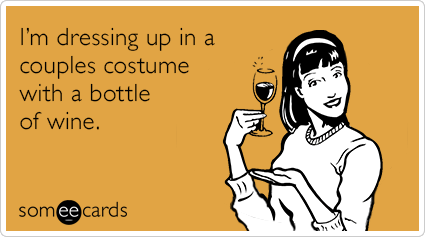 "To send this card, go <a href=""http://www.someecards.com/halloween-cards/dressing-up-bottle-of-wine-funny-ecard"" target=""_bla"