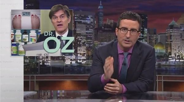 """If [Dr. Oz wants] to keep spouting this bullshit, that's fine, but don't call [his] show 'Dr. Oz,' call it 'Check This Shit"