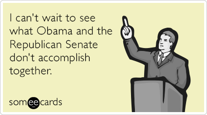 """To send this card, go <a href=""""http://www.someecards.com/somewhat-topical-cards/obama-republicans-senate-congress-nothing-fun"""