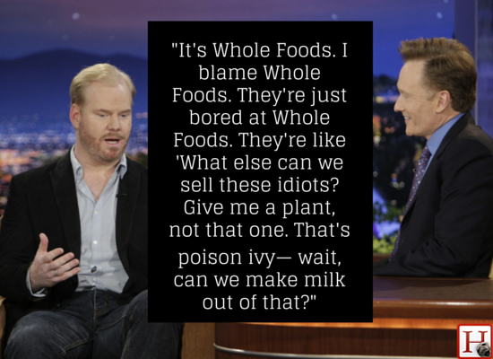 "Jim Gaffigan went on an <a href=""https://www.huffpost.com/entry/jim-gaffigan-kale_n_4275988?1418160646"" target=""_blank"">aweso"
