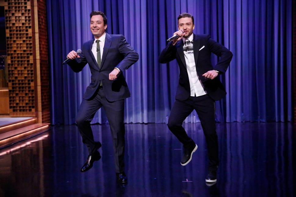 "Justin Timberlake and Jimmy Fallon brought us the <a href=""https://www.huffpost.com/entry/justin-timberlake-jimmy-fallon-hist"