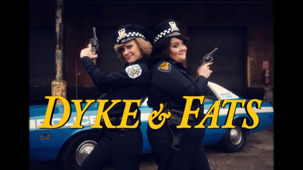 "Aidy Bryant and Kate McKinnon made a <a href=""https://www.huffpost.com/entry/snl-dyke-and-fats-kate-mckinnon-aidy-bryant-cop-"