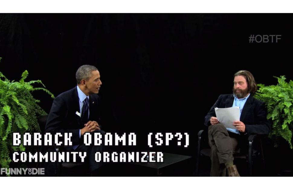 "President Obama went <a href=""https://www.huffpost.com/entry/obama-between-two-ferns_n_4938804?ir=Comedy"" target=""_blank"">""Be"