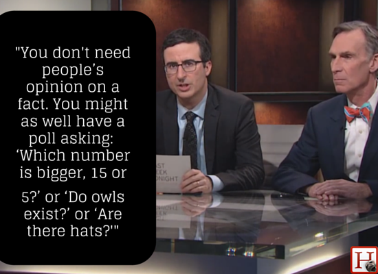 "John Oliver and Bill Nye <a href=""https://www.huffpost.com/entry/john-oliver-climate-change-debate_n_5308822"" target=""_blank"""