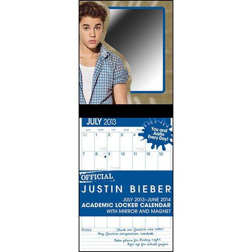 "Nope. This <a href=""http://www.calendars.com/Justin-Bieber-Academic-2014-Magnetic-Mount-Wall-Calendar/Justin-Bieber-Academic-"