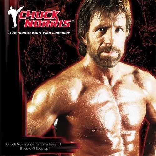 "Twelve months wasn't enough for Chuck Norris, so you'll get 16 with an investment in this <a href=""http://www.amazon.com/2014"