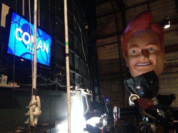 """The one that was <a href=""""http://teamcoco.com/video/bts-bobble-head"""" target=""""_blank"""">made for Conan's week of shows taped fro"""