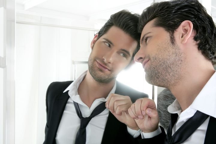 handsome narcissistic suit...