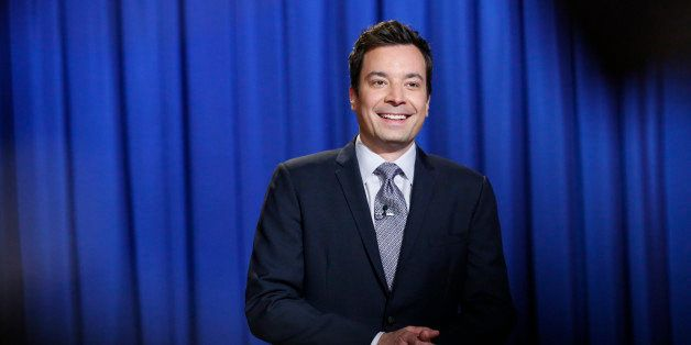 LATE NIGHT WITH JIMMY FALLON -- Episode 850 -- Pictured: Host Jimmy Fallon on June 11, 2013 -- (Photo by: Lloyd Bishop/NBC/NB