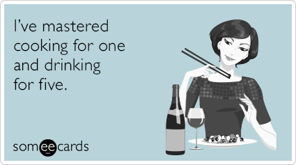 "To send this card, go <a href=""http://www.someecards.com/confession-cards/cooking-for-one-funny-ecard"" target=""_blank"">here!<"