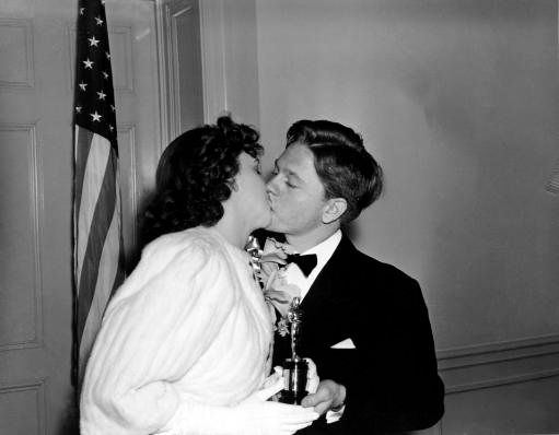 Judy Garland and Mickey Rooney (1940)