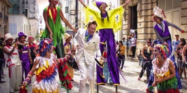 5 Things That Happened To Conan O'Brien When He Went To Cuba
