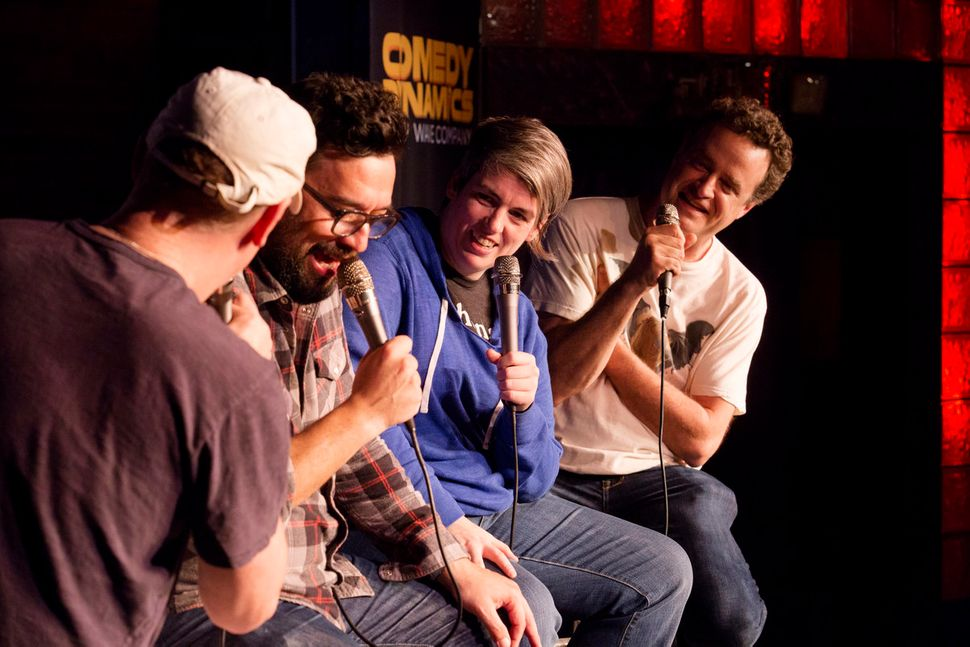 "<a href=""http://schedule.sxsw.com/2015/events/event_CE00055"" target=""_blank"">Improv4Humans</a> Podcast, Sun. March 15 at Esth"