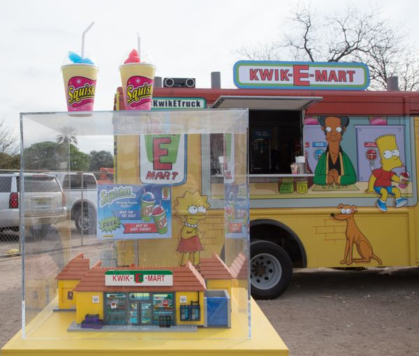 AUSTIN, TX - MARCH 15:  General view of atmosphere as seen during Kwik-E-Mart At SXSW 2015 on March 15, 2015 in Austin, Texas