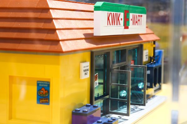 AUSTIN, TX - MARCH 14:  General view of atmosphere as seen during Kwik-E-Mart At SXSW 2015 on March 14, 2015 in Austin, Texas