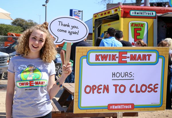 AUSTIN, TX - MARCH 14:  Guests attend Kwik-E-Mart At SXSW 2015 on March 14, 2015 in Austin, Texas.  (Photo by Anna Webber/Get