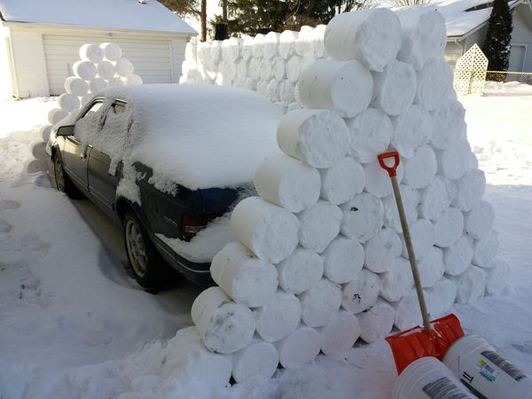 For when you want to turn that Spring snow storm into a back-breaking prank.