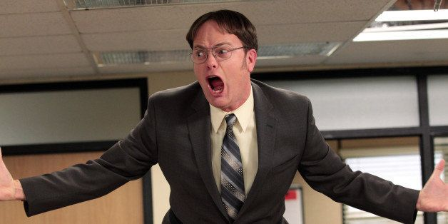THE OFFICE -- 'Livin' The Dream' Episode 921 -- Pictured: Rainn Wilson as Dwight Schrute -- (Photo by: Chris Haston/NBC/NBCU