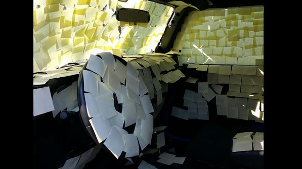 The lesson here is don't leave your car unlocked.