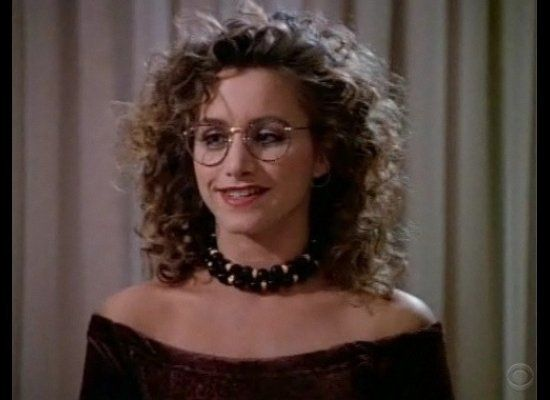 Gabrielle Carteris (aka Andrea Zuckerman) was known for two things: her intense crush on Brandon and the fact that had she da