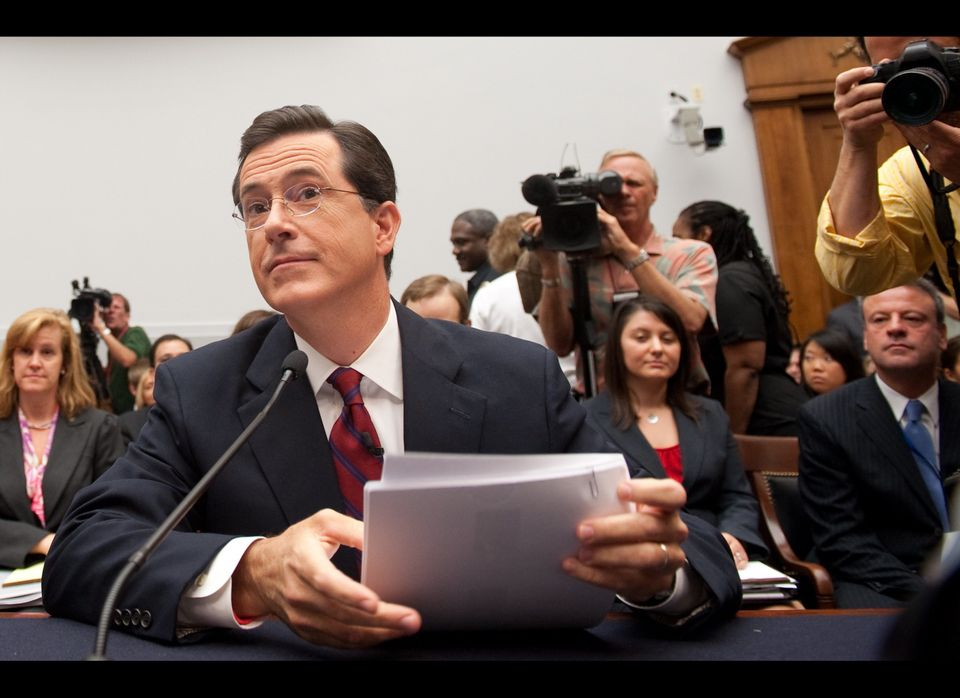 """""""I certainly hope that my star power can bump this hearing all the way up to CSPAN-1."""""""
