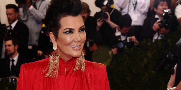 "Kris Jenner arrives at The Metropolitan Museum of Art's Costume Institute benefit gala celebrating ""China: Through the Lookin"